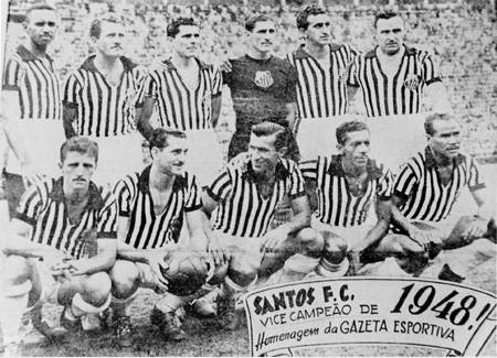 Santos FC - 1948 - Blog DNA Santastico
