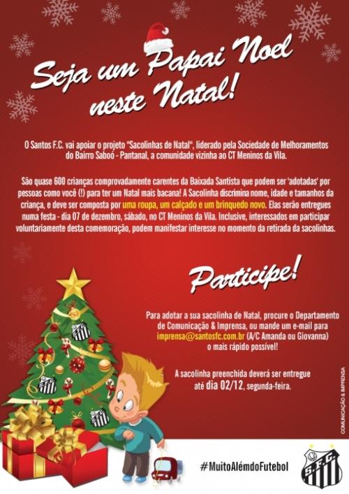 Seja um Papai Noel Neste Natal - Blog DNA Santastico