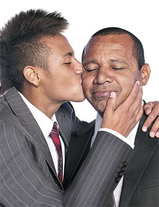 Neymar Jr e Neymar Pai - Blog DNA Santastico
