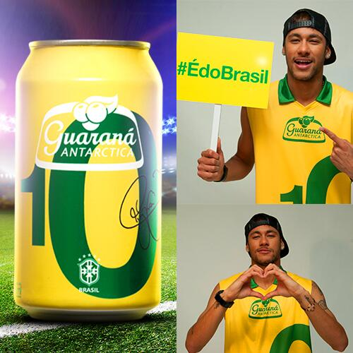 Neymar - Guarana Antarctica - Blog DNA Santastico