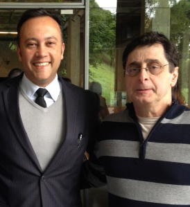 Edmar Junior e Antero Greco