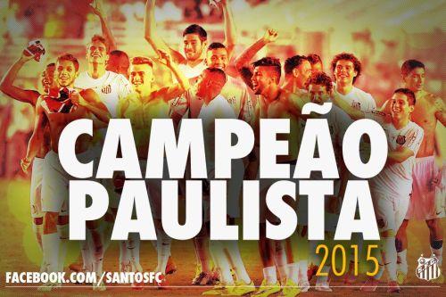 Campeão Paulista de 2015 - Blog DNA Santástico