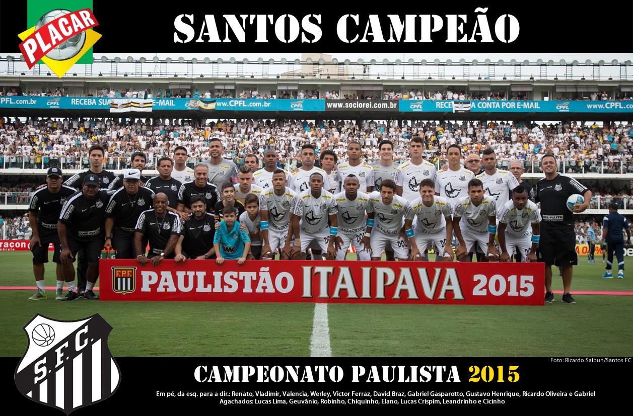 Santos Campeão Paulista de 2015 - Blog DNA Santástico 39cb68b2a87ae