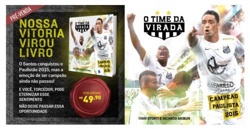 Livro O Time da Virada - Blog DNA Santástico