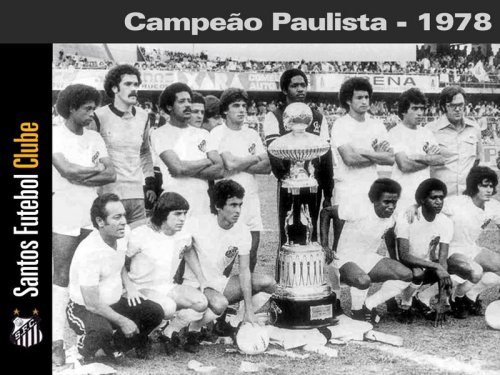 Santos - 1978 - Blog DNA Santástico