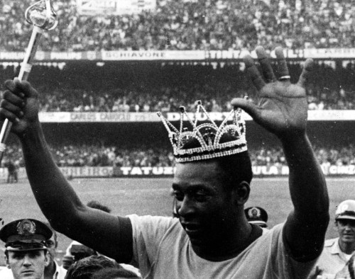 Pelé - Rei do Futebol - Blog DNA Santástico