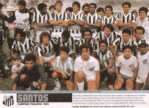 Santos Campeão Paulista de 1984 - Blog DNA Santástico