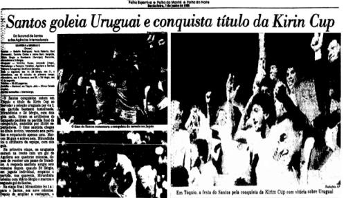 Santos - Copa Kirin - Blog DNA Santástico