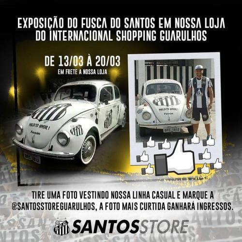 Fusca Santista - Santos Store - Blog DNA Santástico
