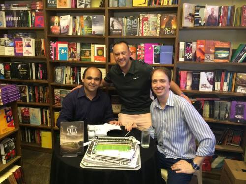 Ted Sartori - Edmar Junior - Almir Rizzatto - Livro Historias da Vila Belmiro - Blog DNA Santástico