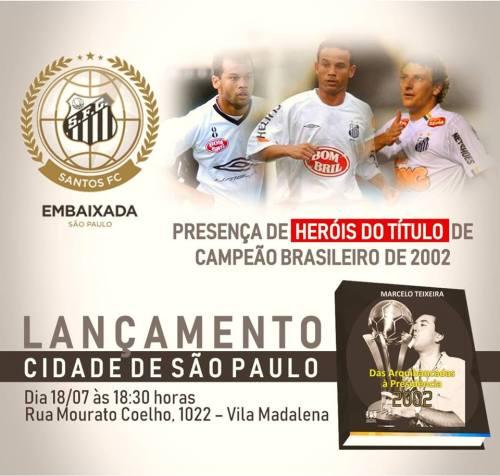 Marcelo Teixeira - Lançamento Livro - Blog DNA Santástico