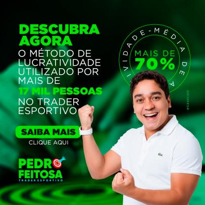 Pedro Feitosa - Trader Esportivo Profissional - Post